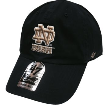 University of Notre Dame Adult 47 Brand Adjustable Clean Up Hat