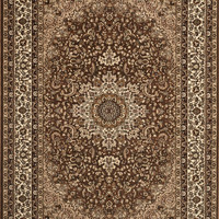 Manor House / Elite Traditional Royalty Area Rug Brown Ardebill