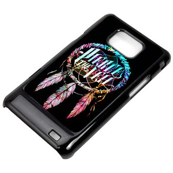 Dream Catcher Pierce The Veil for Samsung Galaxy S2 - Black - White (Option Please)