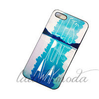 lets RUN AWAY summer 2013 collection blue ombre hard plastic case iphone 4 iphone 5 samsung galaxy s3