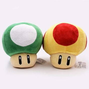 Super Mario party nes switch 2 Styles Large Size 8 inch20cm  Toad Mushroom Stuffed Plush Pendant Toy   AT_80_8