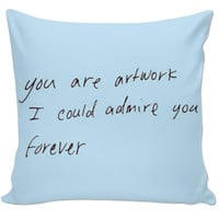Quote pillow :)