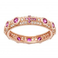 Pretty Bling Eternity Ring