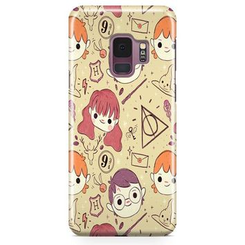 Harry Potter Obsession Samsung Galaxy S9 Case | Casefantasy