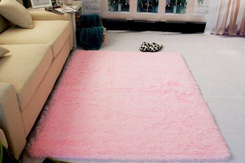 Generic super soft modern shag area rugs from amazon for Soft carpet for bedrooms