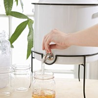 Enamelware Drink Dispenser
