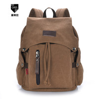 Fashion Men Daily Canvas Backpacks for Laptop Large Capacity Computer Schoolbags Casual Student School Bagpacks Travel Rucksacks