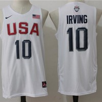Best Deal Online USA Basketball Dream Team Jerseys #10 Kyrie Irving