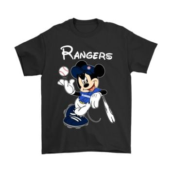 DCCKON7 Baseball Mickey Team Texas Rangers Shirts