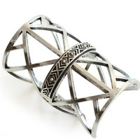 Pamela Love Antique Silver Wrought Iron Cuff
