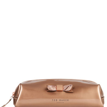 BAHAR - Bow pencil case - Rose Gold | Men's | Ted Baker ROW