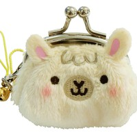 Alpaca Puff Coin Purse