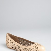Stella McCartney dakar perforated faux leather ballet flats   BLUEFLY up to 70 off designer brands