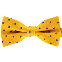 Tok Tok Designs Formal Dog Bow Tie for Medium & Large Dogs (B246, Yellow)