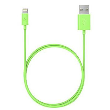 iPhone charger, Anker Lightning to USB Cable (3ft) for iPhone7/7 Plus 6/6s Plus 5s/5c/5, iPad Pro Air 2, iPad mini 4 3 2, iPod touch 5th gen / 6th gen / nano 7th gen [Apple MFi Certified] (Green)