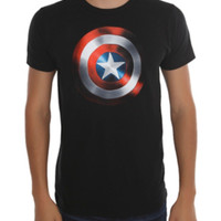 Marvel The Avengers Captain America Shield T-Shirt