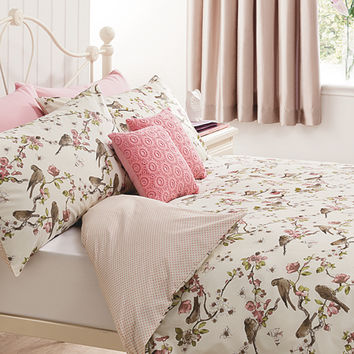 George Home Potting Shed Birds Duvet Range | Bedding | ASDA direct