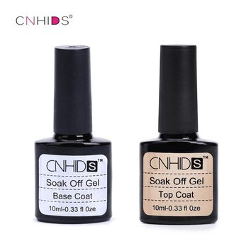 Base+Coat Top Layer Sticky Base Coat Long Lasting No Clean Top Coat LED Gel Lamp Cured Nail Gel Polish Shiny Sealer Manicure