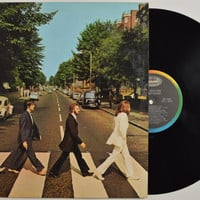 "THE BEATLES - ""Abbey Road"" vinyl record"