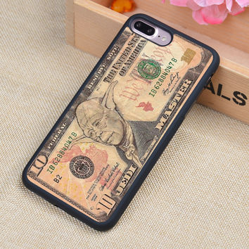 Star Wars Case Yoda Funny Dollar Bill Soft Rubber Mobile Phone Cases For iPhone 6 6S Plus 7 7 Plus 5 5S 5C SE 4 4S Cover Shell