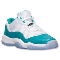 Girls' Grade School Air Jordan Retro 11 Low Basketball Shoes