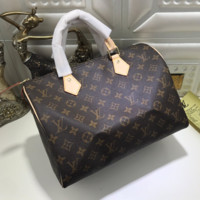LV Fashion Women Print Shopping Leather Multicolor Tote Handbag Shoulder Bag G