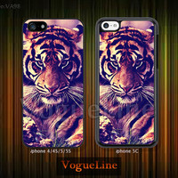 tiger iPhone 5 case iPhone 5c case iPhone 5s case iPhone 4 case iPhone 4s case, phone case iPhone case tiger --VA98