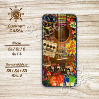 The Beatles, Hippies, Guitar, John Lennon, iPhone 5 case, iPhone 5C Case, iPhone 5S case, Phone case, iPhone 4 Case, iPhone 4S Case, 0491