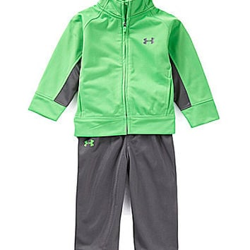 Under Armour 12-24 Months Element Tricot Warm-Up Set - Green Energy/Gr