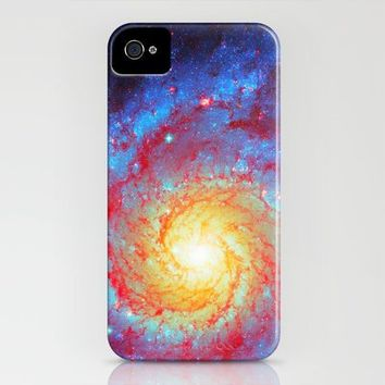 Spiral Galaxy iPhone Case by Starstuff | Society6