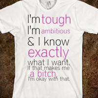 GIRLY QUOTE SHIRT