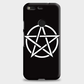 Pentagram Symbol Goth Metal Wiccan Magic Google Pixel XL 2 Case
