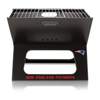 New England Patriots - X-Grill Portable Charcoal BBQ Grill