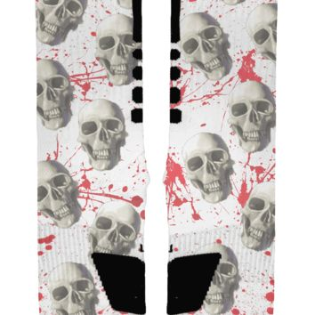 The Skulls Custom Nike Elite Socks