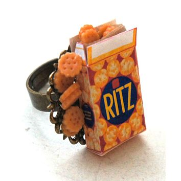 Ritz Crackers Ring