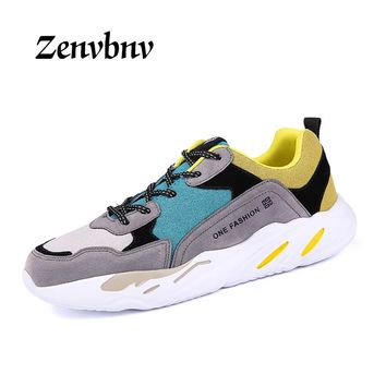 ZENVBNV Fashion Men Creepers Platform Shoes Casual 2018 Designer Sneakers Men Trainers Shoes Luxury Brand Superstars Espadrilles