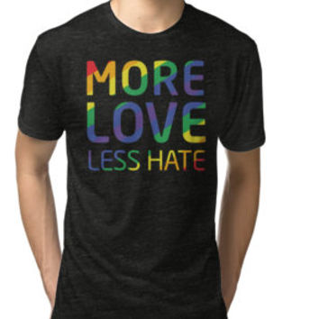 Move Love Less Hate, Strong Orlando T-Shirt by angelshirt