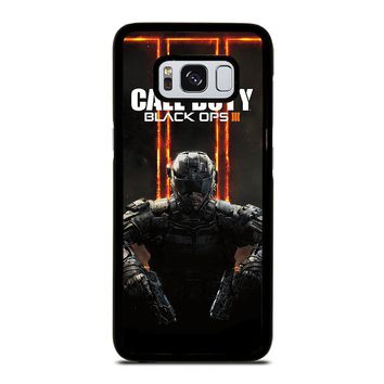 CALL OF DUTY BLACK OPS 3 Samsung Galaxy S3 S4 S5 S6 S7 Edge S8 Plus, Note 3 4 5 8 Case Cover