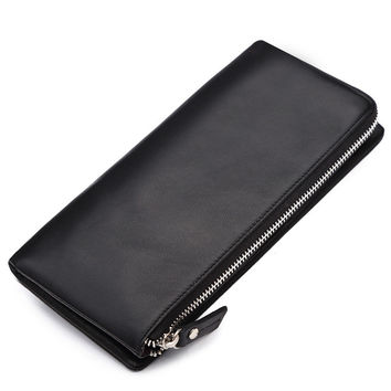 Men Casual Bags Leather Wallet [9026566019]