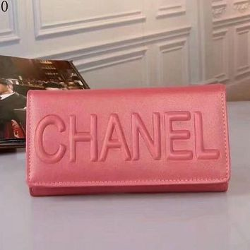 PEAPUF3 Chanel Buckle Women Leather Purse Wallet Satchel Tote Handbag G-LLBPFSH