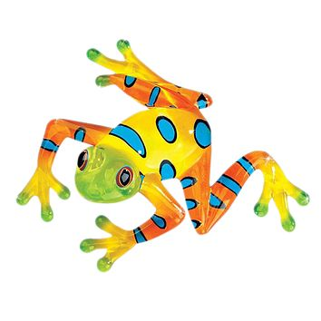 "Glass Baron Frog ""Rain Forest"" Small"