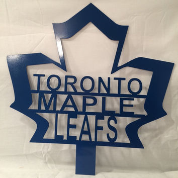 Toronto Maple Leafs metal art