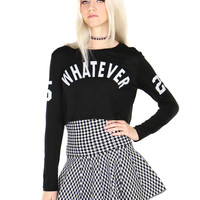 WHATEVER CROP TOP