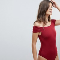 Zulu & Zephyr Exclusive Maroon Swimsuit at asos.com