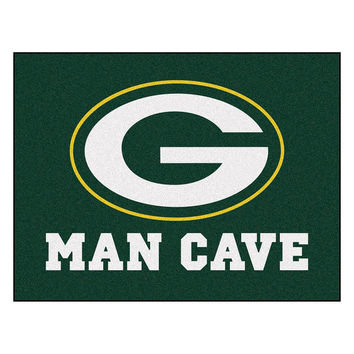 Green Bay Packers NFL Man Cave All-Star Floor Mat (34in x 45in)
