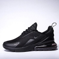 Nike Air Max 270 men and women The air cushion shoes-8