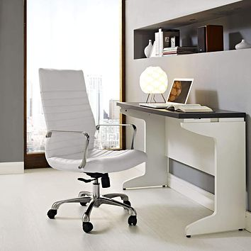 Finesse Highback Office Chair White