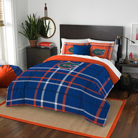 Florida Gators NCAA Full Comforter Set (Soft & Cozy) (76 x 86)