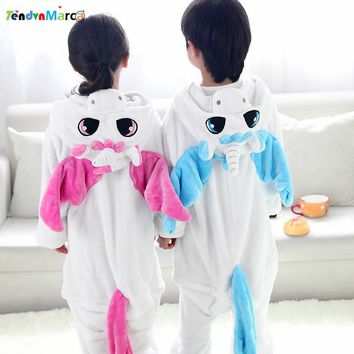 Children pajamas girls unicorn baby boys clothes unicornio Spring Children nightgown pyjamas kids animal pijamas infantil STR18