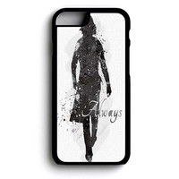 Snape Always Watercolor Fine iPhone 6 and iPhone 6s Case